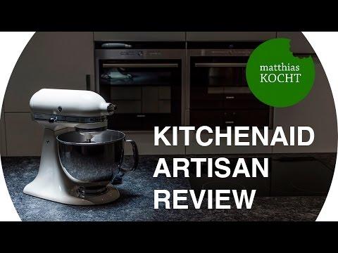 KitchenAid Artisan Review - Testbericht vom Profi | Matthias checkt