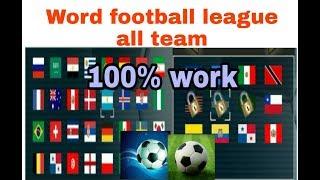 How to download world football league all team unlocked app screenshot 1