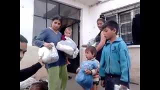 hristianski centar spasenie razdava humanitarni pomoshti v chirpan