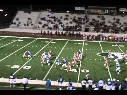 Kyle AuBuchon Blinn Football 2011 Highlight