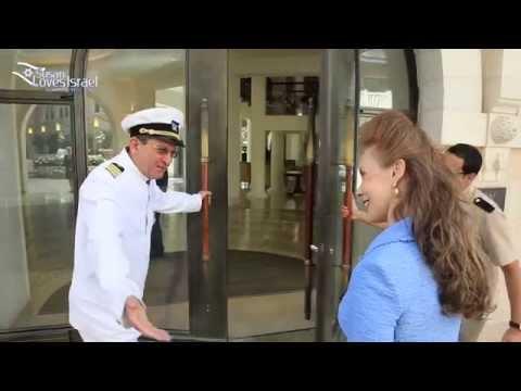 Waldorf Astoria Hotel, Jerusalem With Susan Loves Israel