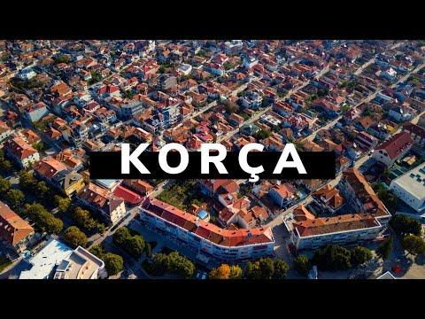 The City of Korçë - Albania 4k