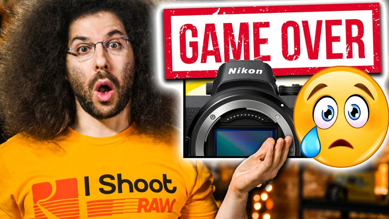 GAME OVER NIKON?! CANON's R5 UPDATE Fixed WHAT???
