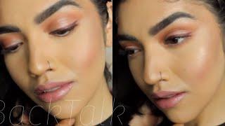 UD BACKTALK Full Face Makeup Tutorial!! // 2018
