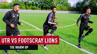 FOOTSCRAY LIONS vs UTR FC: The Warm Up