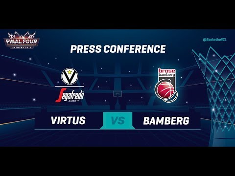Segafredo Virtus Bologna v Brose Bamberg - Press Conference - Basketball Champions League 2018