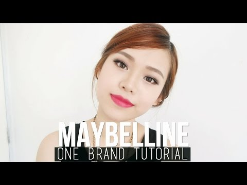 Maybelline One Brand Tutorial & Review | Special Occasion Makeup Look | ENG Sub | Bahasa Indonesia