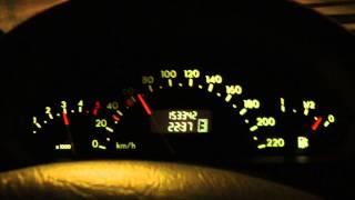 mercedes a class w168 a160 1 7 cdi   0 100 km h   acceleration