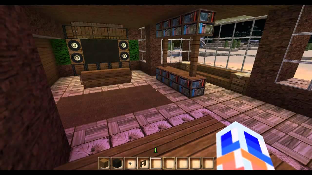 Minecraft Modernes Haus 13 - YouTube