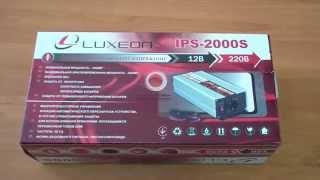 Инвертор напряжения Luxeon IPS-2000S, чистый синус, для солнечных панелей(Преобразователь напряжения Люксеон IPS-2000S с правильной синусоидой из 12В в 220В. Преобразователь напряжения..., 2015-05-11T13:53:28.000Z)
