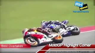 MotoGP Aksi GILA Valentino Rossi Vs Marquez Vs Lorenzo Bikin GEGER Sirkuit