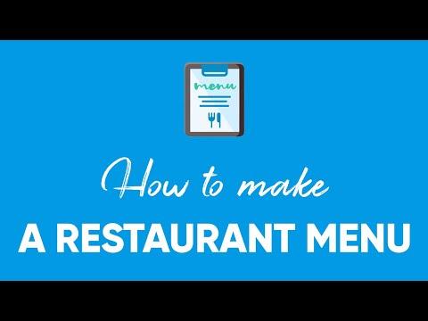 How To Make A Restaurant Menu | Flipsnack.com