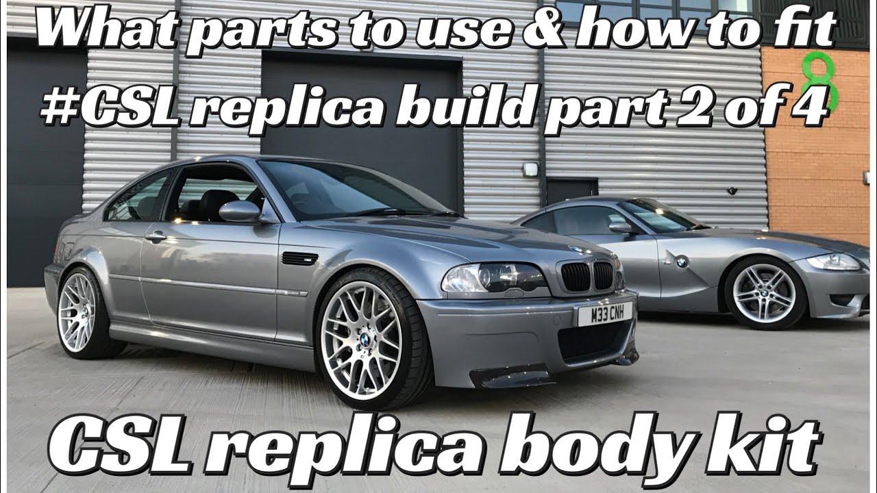 Bmw E46 M3 Csl Replica Body Kit Wheel Fitting