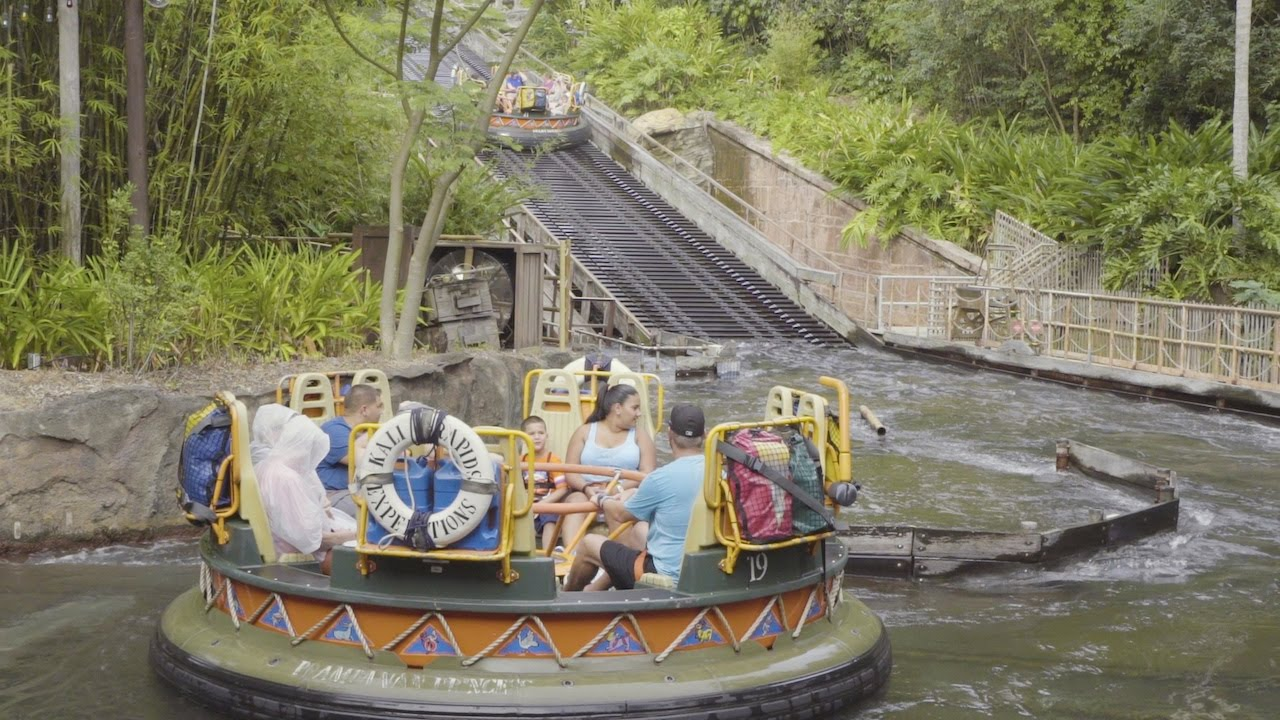 Kali River Rapids Ride Disneys Animal Kingdom Walt Disney World Resort