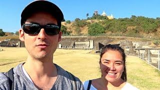 AMERICAN Visits LARGEST PYRAMID in the WORLD ! (CHOLULA- Puebla, Mexico)🇲🇽