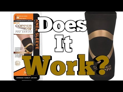 fc801003a1 Copper Fit Pro Series Knee Sleeve Review - YouTube