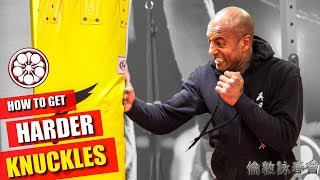 SHOULD You PUNCH Heavy Bags without Gloves? | How to Get Harder Knuckles