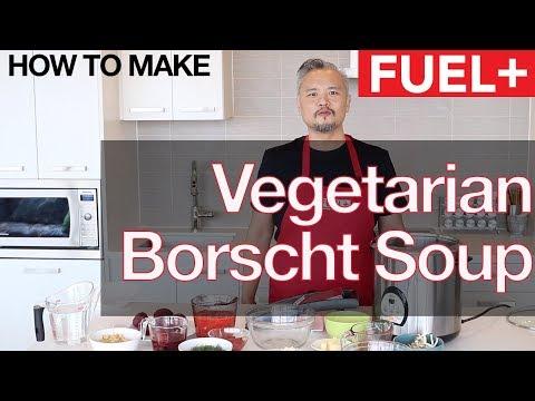 Healthy Vegetarian Borscht Soup Recipe