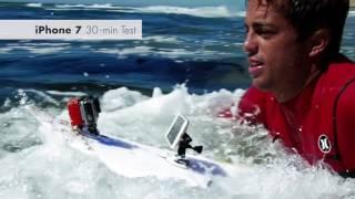 راكب أمواج محترف يختبر قدرة iPhone 7 على مقاومة المياه في إختبار الركمجة - إلكتروني