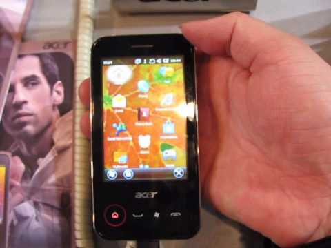 Acer P400 handson at Mobile World Congress 2010