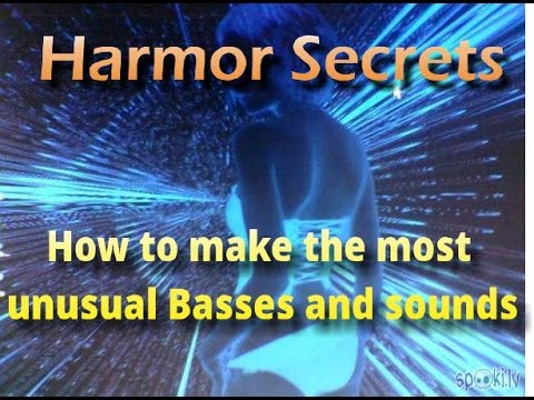 The main Harmor secret and capability most people don't know. How to make unique sounds.