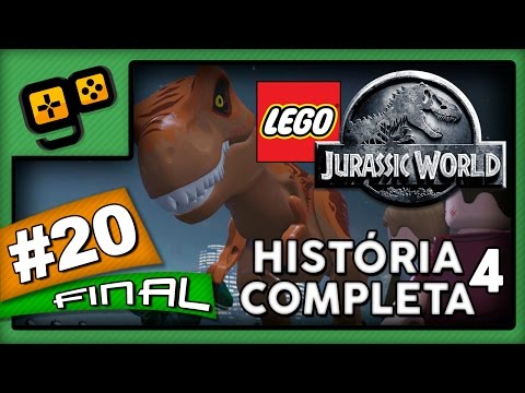 Let's Play: Lego Jurassic World - Parte 20[FINAL] - História Completa (Jurassic World)