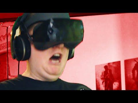 Peter weint bei Horror-VR