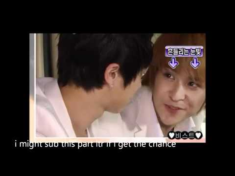 funny dongwoon + kiwoon