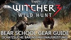 Witcher 3 Guide: Bärenschulenausrüstung
