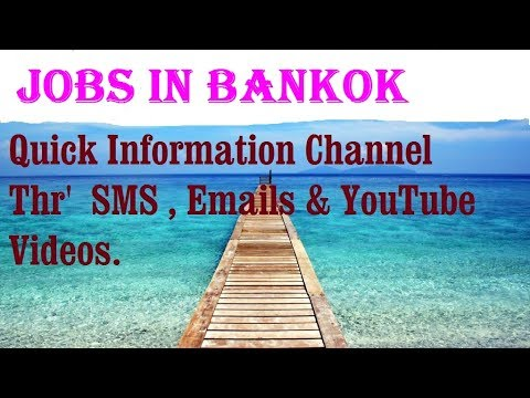 Jobs in BANKOK  City for freshers & graduates. industries, companies.  THAILAND.