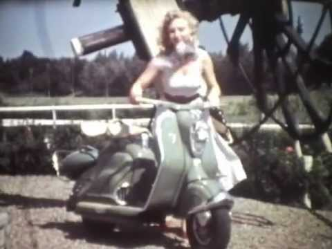 NSU Prima Scooter  Dutch unofficial commercial 1957