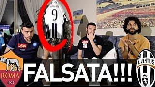 FALSATA!!! ROMA 3-1 JUVENTUS | REAZIONE NAPOLETANI LIVE HD