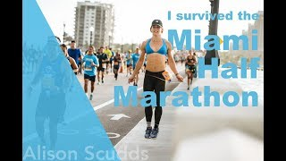 ASCUDDS- I survived the Miami Half Marathon