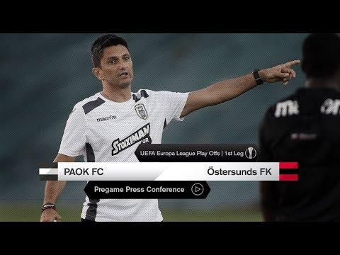 Η συνέντευξη Τύπου των Λουτσέσκου και Πρίγιοβιτς - PAOK TV
