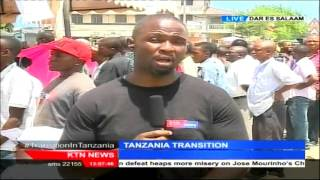 KTN's John Alan Namu with updates of Tanzania Vote