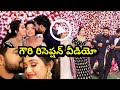 Agni sakshi serial gowri wedding reception beautiful moments || agni sakshi serial today episode