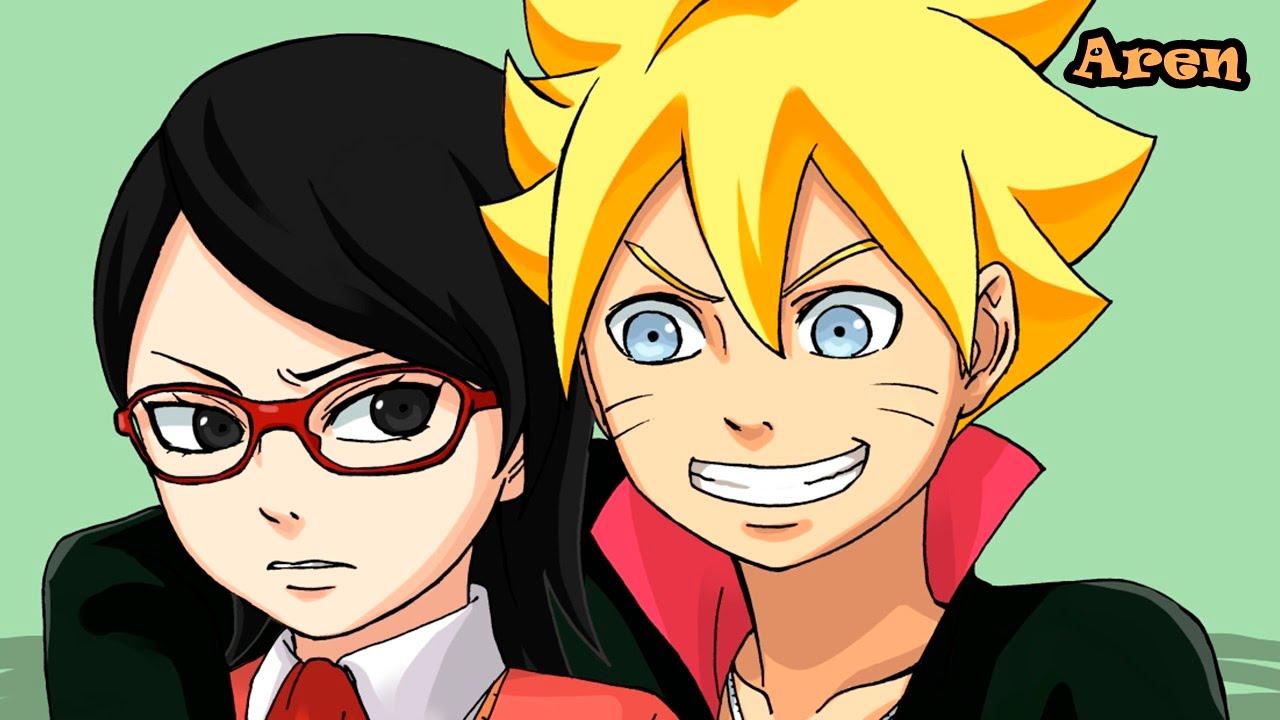 Naruto Gaiden (Parte 3 del Manga de Naruto) Fecha de ... Gaara And Naruto Kids