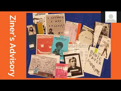 First Tuesdays: Zines to the Front: Building a Library Collection for the People, by the People