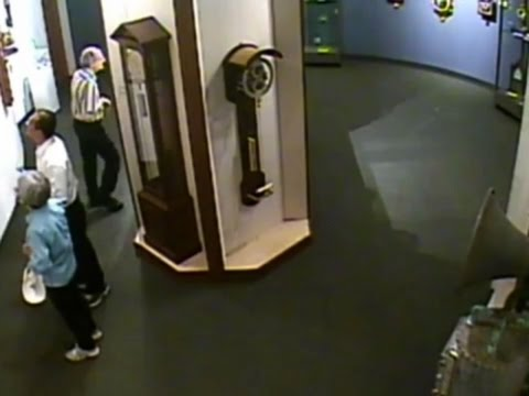 Thumbnail: Raw: Modern Clock Damaged By Tourists in Museum