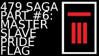479 SAGA #6: MASTER SLAVE PRIDE FLAG | MasterHook