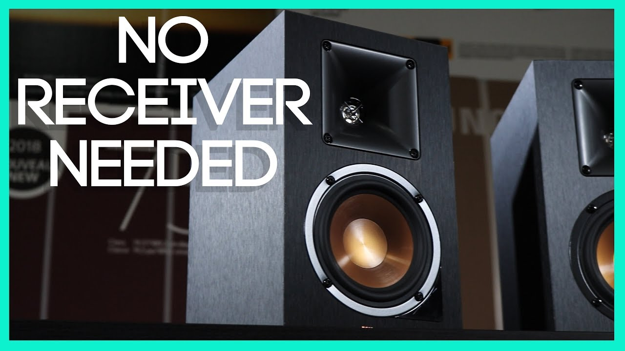 Easy To Use Bookshelf Speakers Without A Receiver RP 14PM