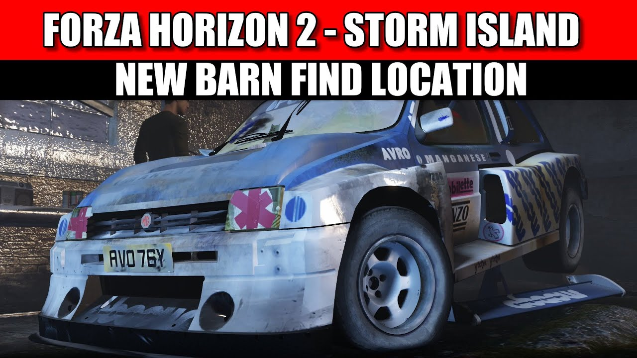 Forza Horizon 2 Storm Island Barn Find Location