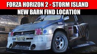forza horizon 2 storm island barn find location metro 6r4