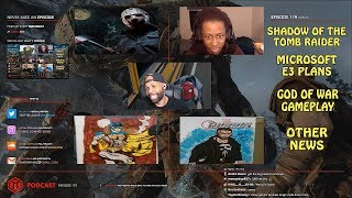 GMG Show Ep. 179 - Shadow of the Tomb Raider, Ataribox, COD Leprechauns, God Of War