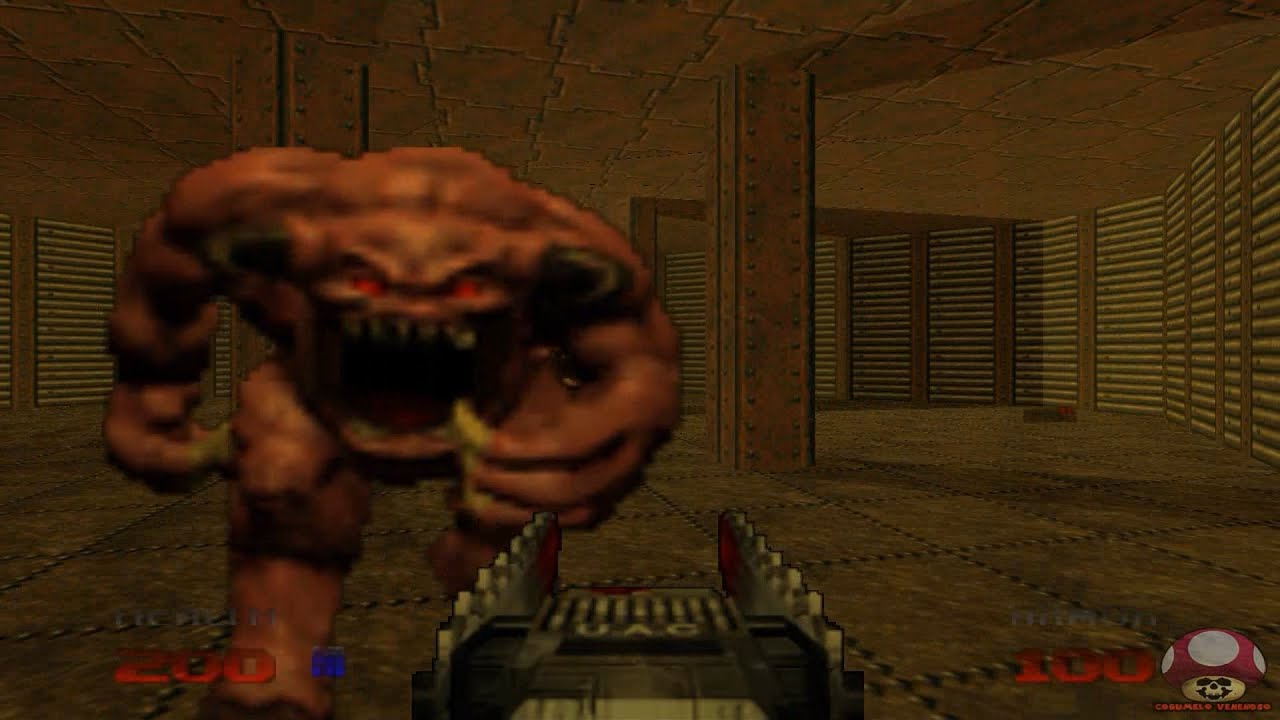 Gameplay: Doom 64 (Nintendo 64) - YouTube