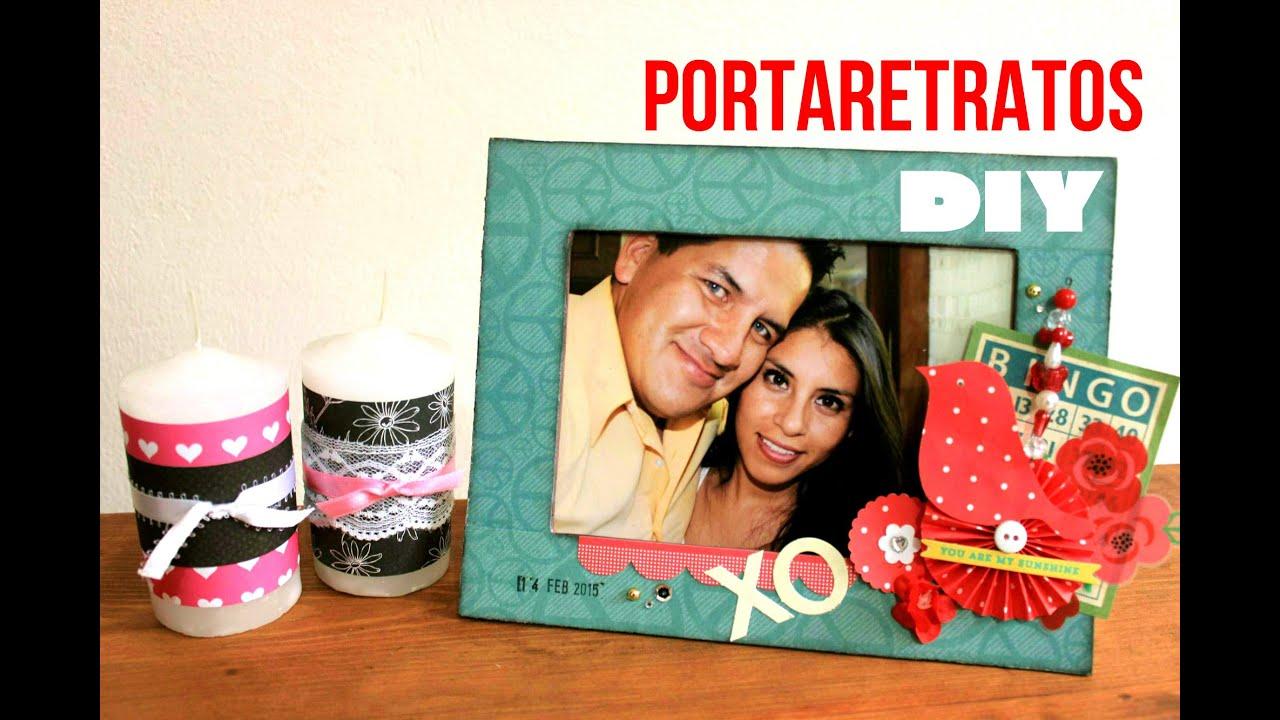 PORTARETRATOS para mi novio/regalo IDEAL//Tutorial//SAN VALENTIN ...