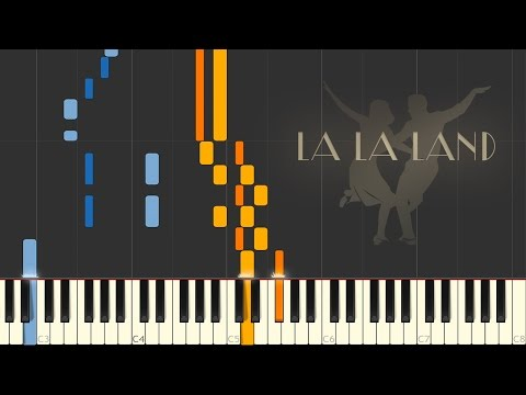 LA LA LAND - Mia and Seb's Theme/Epilogue \\ Synthesia Piano Tutorial