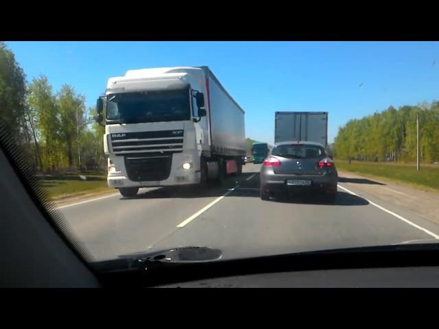 Жестокая авария на трассе тамбов пенза