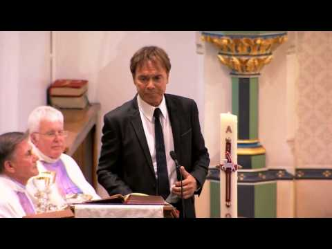 Sir Cliff Richard sings Faithful One at Cilla Black's funeral