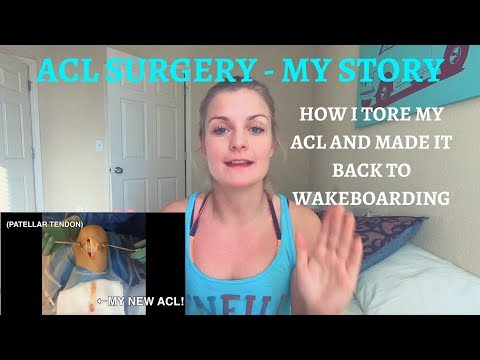 What to expect after ACL surgery || My Story & Rehab